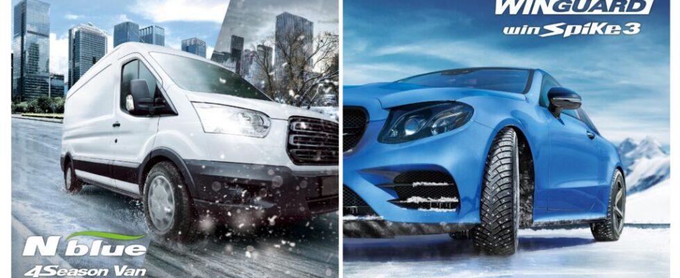 Nexen+Tire+Launches+New+All-Season+N'blue+4Season+Van+and+Updated+WINGUARD+winSpike+3+Winter+Tyres+in+European+Market