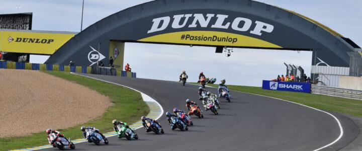 Dunlop prodlužuje exkluzivitu jako dodavatel pneu pro Moto2 a Moto3 do roku 2023